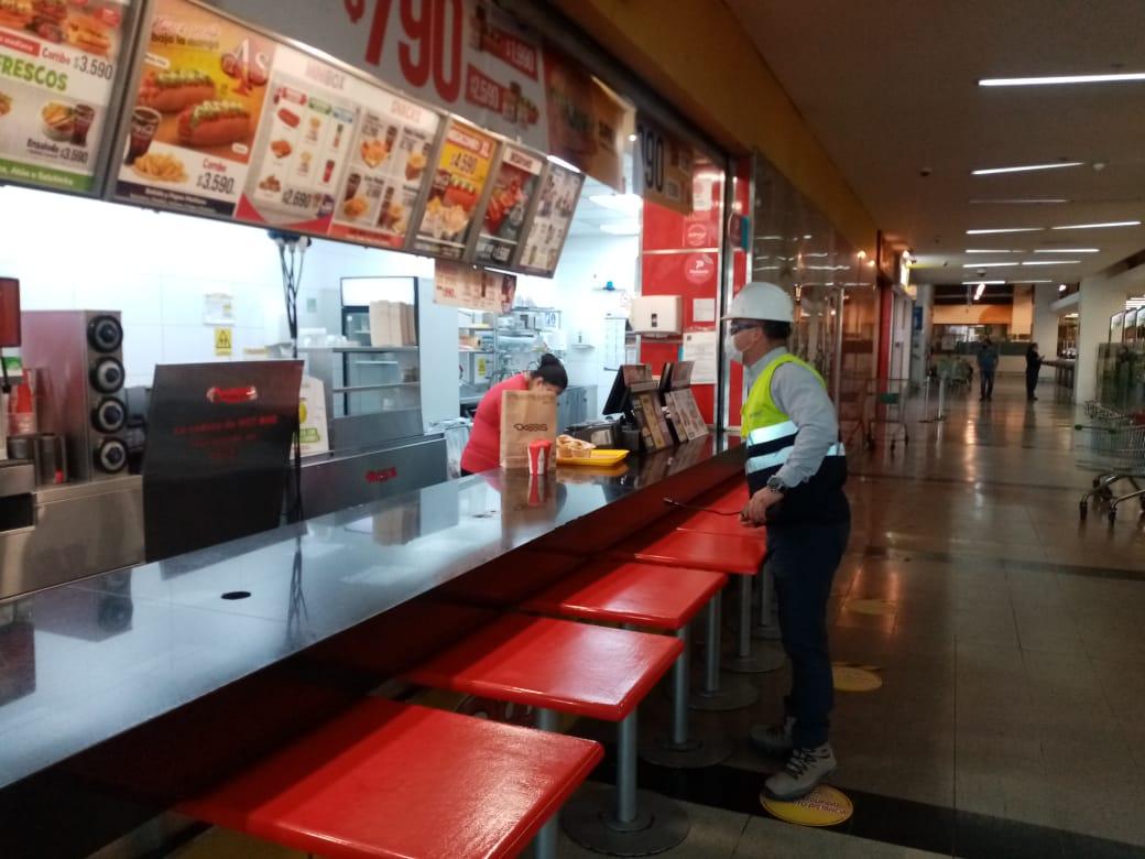 Prevención de incendios en centros comerciales